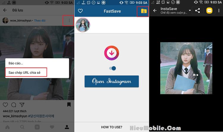 Hình ảnh kbigBqt của Tải FastSave - Giúp tải hình ảnh và video lưu trên Instagram tại HieuMobile