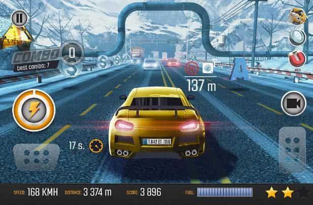 Hình ảnh trong game Road Racing: Traffic Driving