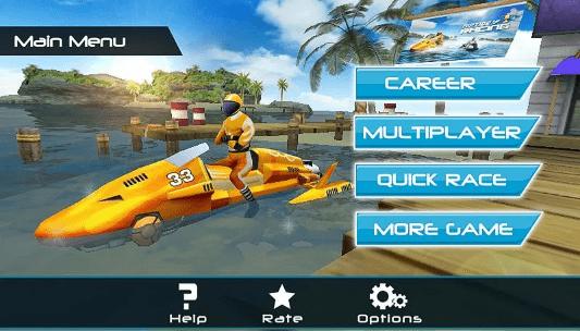 Hình ảnh trong game MotorBoat 3D - Đua thuyền dưới nước