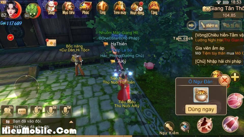 Hình ảnh kxXZDTb 1 của Nhiệm vụ ẩn Manh Sủng Bà Bà trong game Tru Tiên 3D tại HieuMobile