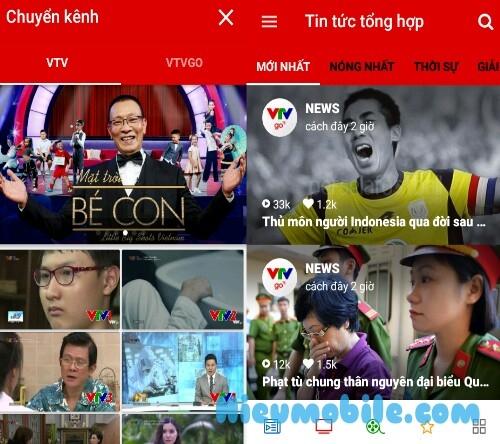 Hình ảnh m4CBF55 của Tải VTV Go - Ứng dụng xem các kênh và chương trình của đài truyền hình Việt Nam tại HieuMobile