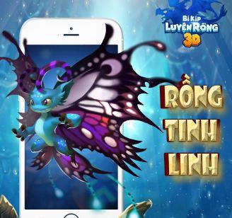 Rồng Tinh Linh trong Bí Kíp Luyện Rồng 3D Mobile