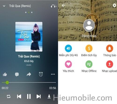 Hình ảnh mAdOyac của Tải Keeng - Nghe nhạc xem phim miễn phí cho thuê bao Viettel tại HieuMobile