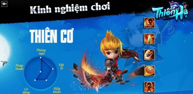 Kinh nghiệm chơi Thien Co - Thien Ha Garena