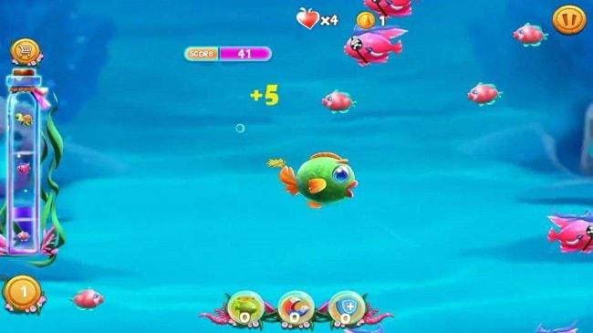 Hình ảnh mMDDxZx của Tải game Fishing Frenzy - Cá lớn nuốt cá bé cho điện thoại tại HieuMobile