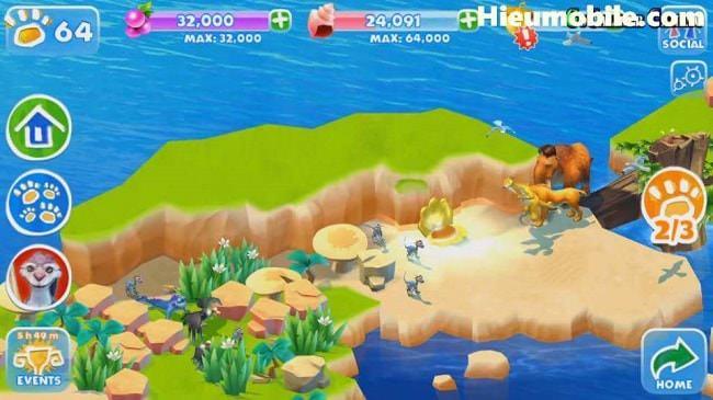 Hình ảnh mU2zrpN của Tải game Ice Age Adventures - Quản lý vườn thú kỷ băng hà tại HieuMobile