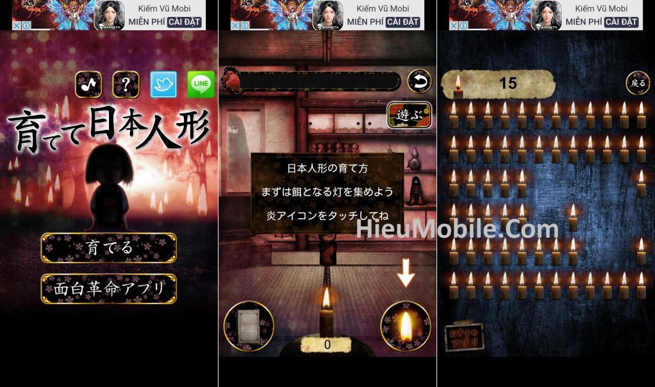 Hình ảnh mXZX02f 1 của Tải game Japanese Doll - Nuôi ma búp bê Nhật Bản tại HieuMobile