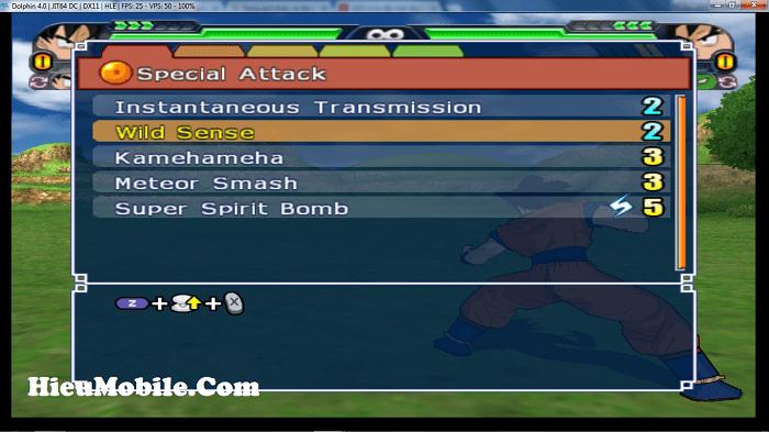 Hình ảnh mnZQJ8v của Cách cài phím giả lập Dolphin để chơi Dragon Ball Z Tenkaichi 3 tại HieuMobile