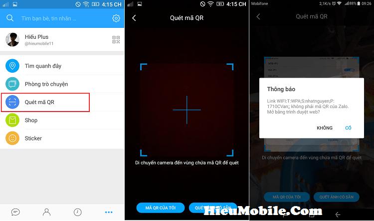 Hình ảnh n3Mh51n của Hướng dẫn lấy pass Wifi đã lưu bằng mã QR từ điện thoại tại HieuMobile