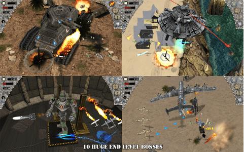 Hình ảnh trong game Air Attack HD - Bắn máy bay tiêm kích