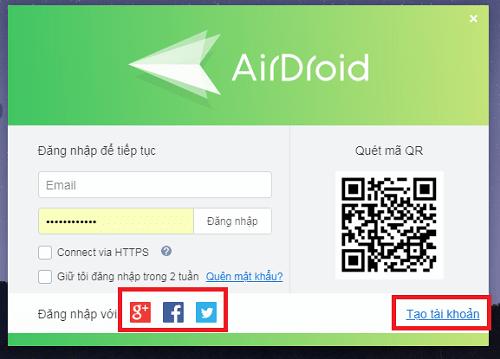 Hình ảnh nqkKLH4 của Tải AirDroid - Quản lý tệp tin và truy cập bảo vệ điện thoại từ xa tại HieuMobile