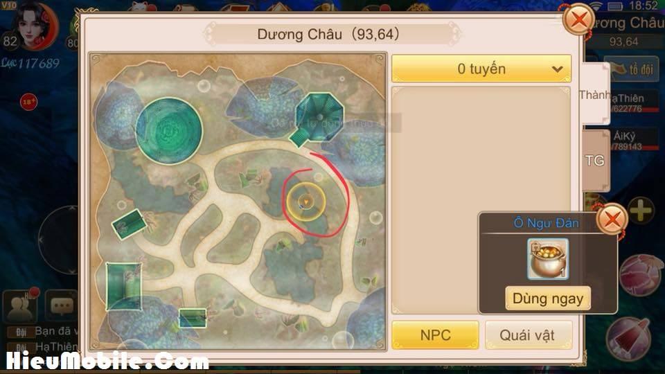 Hình ảnh nzy0N3O của Nhiệm vụ ẩn Manh Sủng Bà Bà trong game Tru Tiên 3D tại HieuMobile