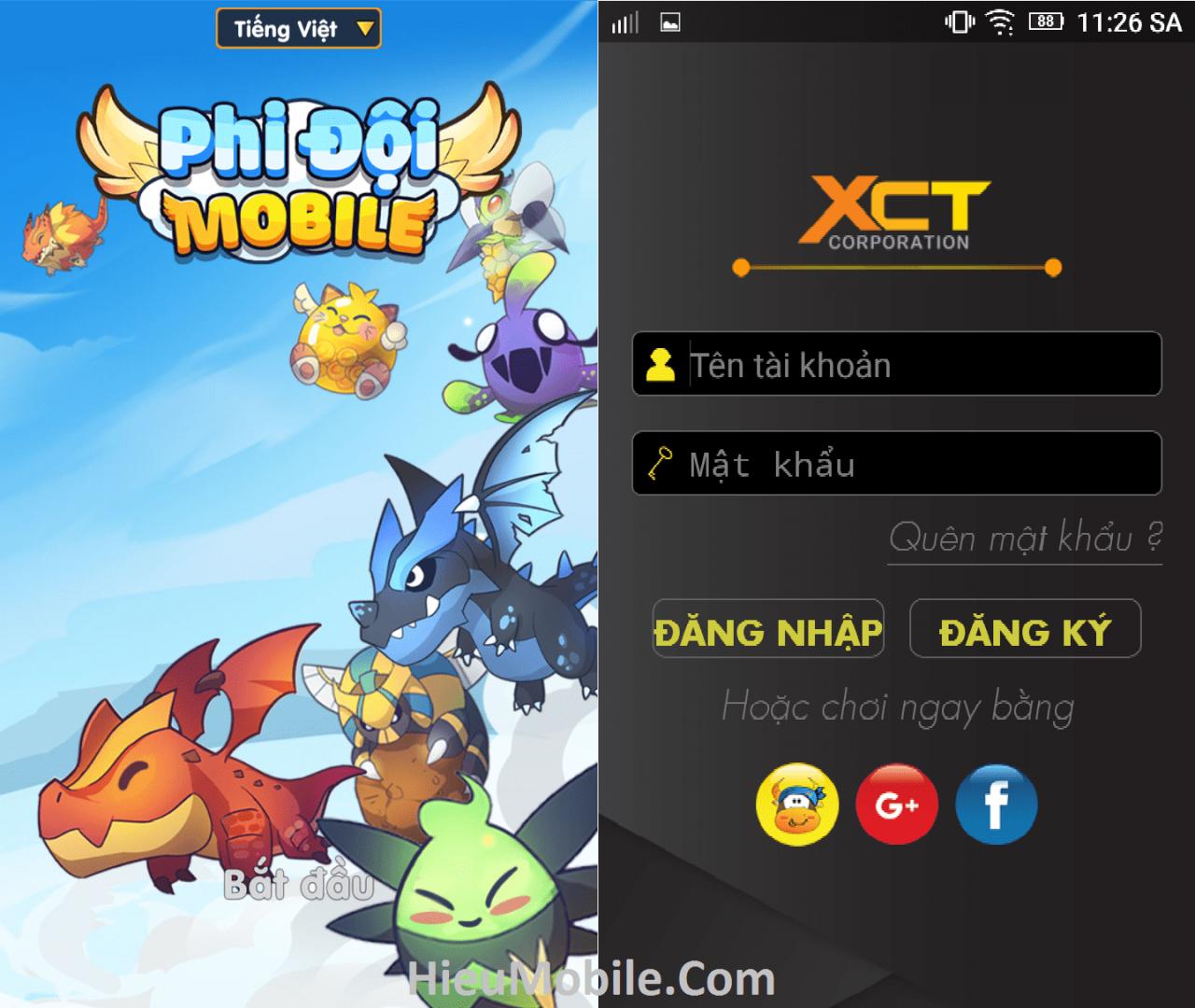 Hình ảnh oChmG0u 1 của Tải game Phi Đội Mobile - Bay bắn thú cưng hấp dẫn tại HieuMobile