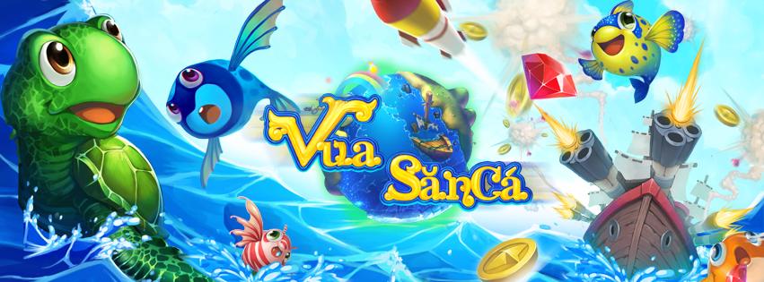 Ảnh bìa đầy màu sắc của game Vua Săn Bắn Cá Online