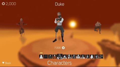 Hình ảnh trong game Sky Dancer - Chạy trên không trung tại HieuMobile