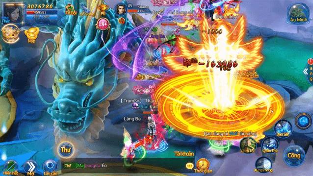 Hình ảnh trong game Thiên Thư Mobile - Phàm nhân tu tiên tại HieuMobile