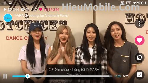 Hình ảnh oXDNjWn của Tải V Live - Ứng dụng giao lưu cùng sao Hàn Quốc tại HieuMobile