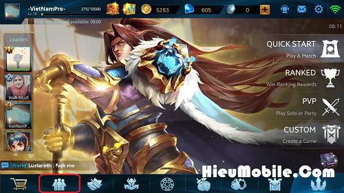 Hình ảnh ooQ1uVv của Hướng dẫn nhận và sử dụng giftcode game Heroes Evolved tại HieuMobile