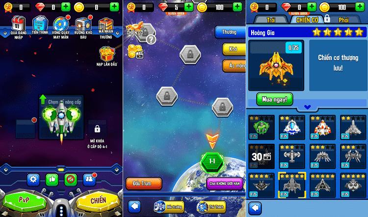 Hình ảnh optimized jttv của Tải game Space Shooter - Đại chiến không gian tại HieuMobile