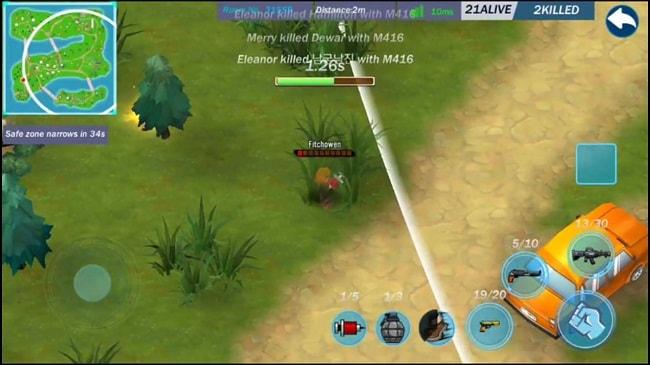 Hình ảnh optimized myx9 của Tải game Conflict.io - Bắn súng sinh tồn phong cách hoạt hình 3D tại HieuMobile