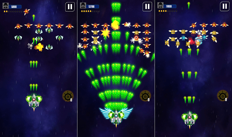 Hình ảnh optimized qxiv của Tải game Space Shooter - Đại chiến không gian tại HieuMobile