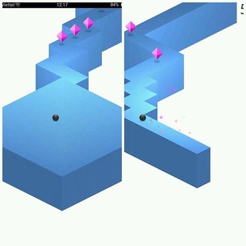 Hình ảnh optimized xcmc của Tải game ZigZag - Điều khiển viên bi siêu hại não tại HieuMobile