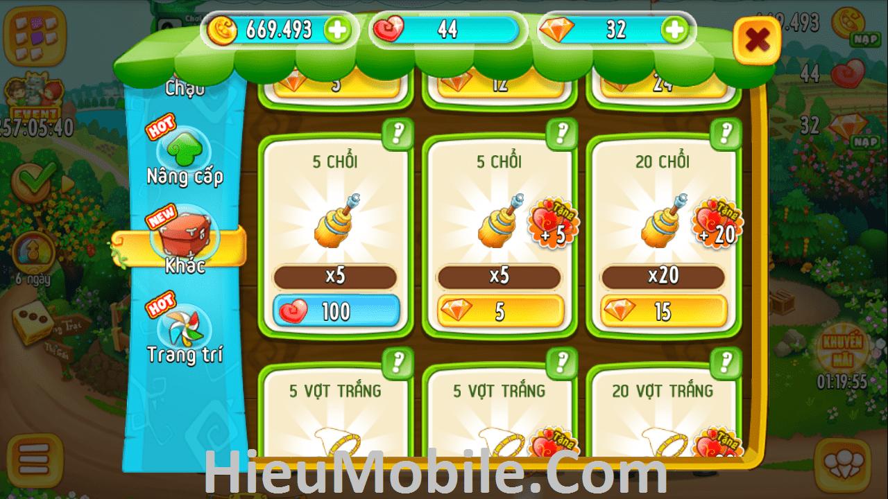 Hình ảnh ouFxYo4 của Khám phá tính năng Đúc chậu và Cường Hóa Trang Trí Khu Vườn Trên Mây tại HieuMobile