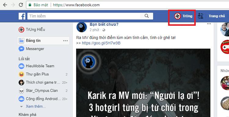 Hình ảnh oxpaGMv của Mẹo kiểm tra xem những ai vào Facebook của mình nhiều nhất tại HieuMobile