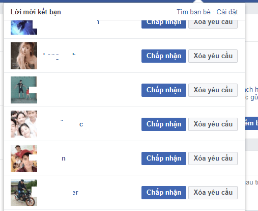 Nếu có nhiều người lạ trong danh sách bạn bè, khi bị RIP nick Facebook bạn sẽ khó phân biệt để xác minh mở khóa