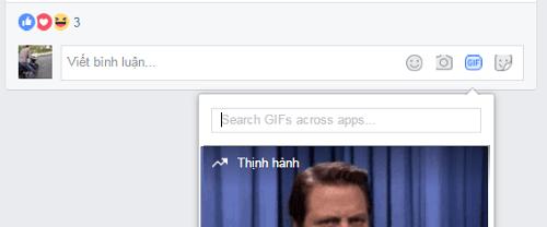 Hình ảnh pdZKq4Y của Facebook thêm tính năng gửi ảnh động vào khung bình luận tại HieuMobile