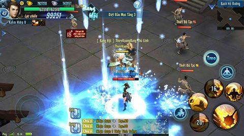 Hình ảnh trong game Võ Lâm Truyền Kỳ Mobile