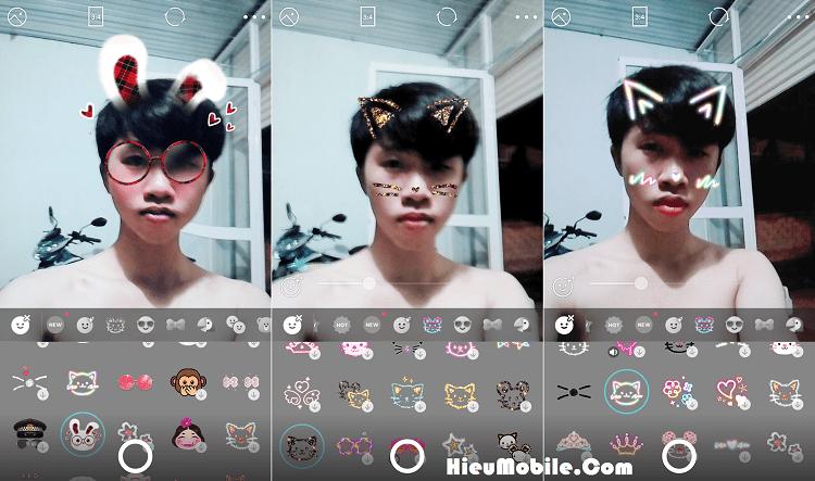 Hình ảnh qkjIb3o của Cách ghép mặt thỏ mèo siêu dễ thương khi chụp ảnh bằng B612 tại HieuMobile