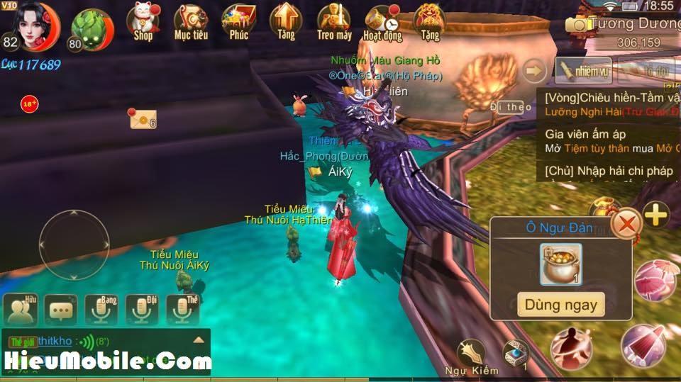 Hình ảnh qxhtxTh 1 của Nhiệm vụ ẩn Manh Sủng Bà Bà trong game Tru Tiên 3D tại HieuMobile