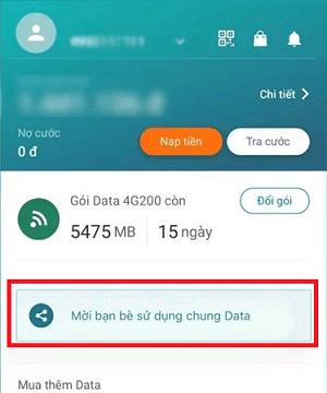 Hình ảnh qyud8Uu của Viettel ra mắt tính năng chia sẻ dung lượng data 3G, 4G cho người khác tại HieuMobile