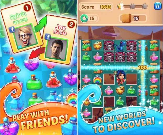 Hình ảnh của game Hocus Puzzle - Xếp nước ma thuật tại HieuMobile