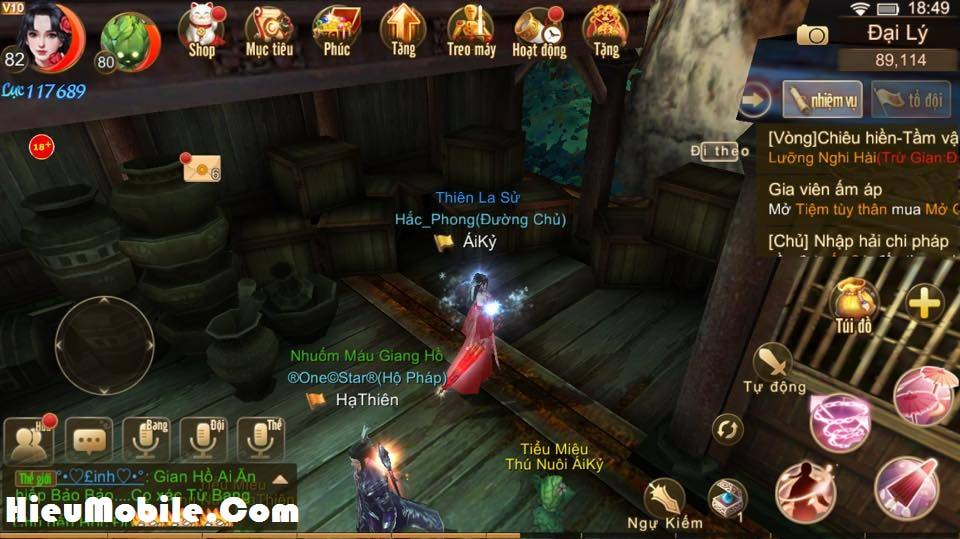 Hình ảnh rAZF7YQ của Nhiệm vụ ẩn Manh Sủng Bà Bà trong game Tru Tiên 3D tại HieuMobile