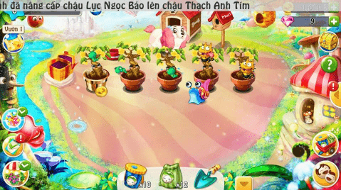 Hình ảnh của Nông Trại Vui Vẻ - Trồng cây nuôi thú siêu vui tại HieuMobile