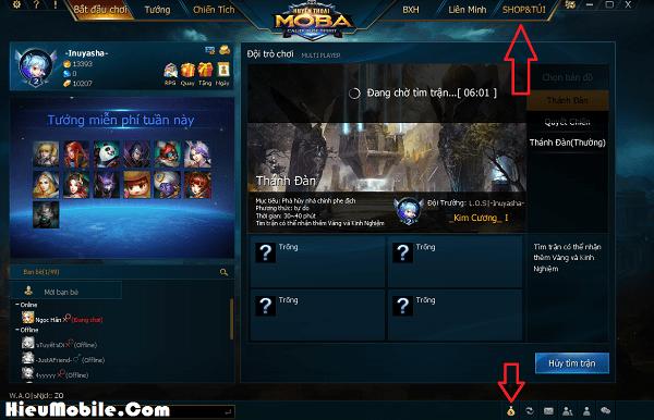 Hình ảnh rOOEyOm của Hướng dẫn chi tiết cách nạp thẻ vào game Huyền Thoại Moba tại HieuMobile