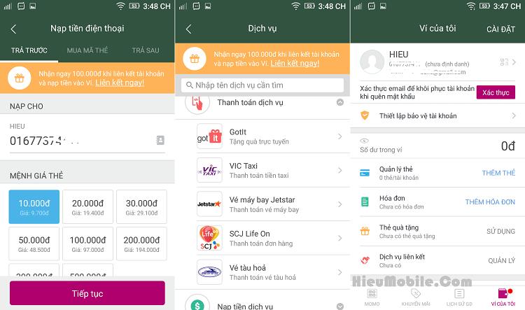 Hình ảnh s8szyZT của Tải Ví Điện Tử MoMo - Đa dịch vụ thanh toán tiện ích tại HieuMobile