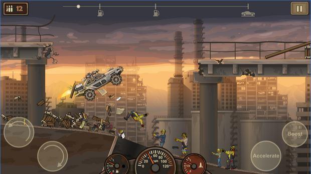 Vượt qua mọi khó khăn và thử thách để giết sạch Zombie - Tải Game Earn to Die 2