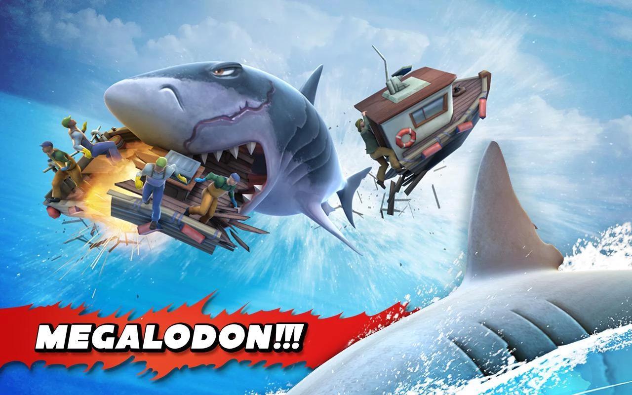 Các màn chơi gay cấn trong game Hungry Shark Evolution
