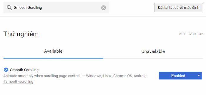 Hình ảnh sNUtoBL của Giảm giật lag trên Chrome bằng cách bật tính năng Smooth Scrolling tại HieuMobile