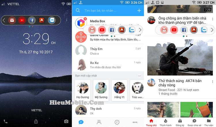 Hình ảnh sQ0yeke của Tải Floating Bar LG V30 - Thêm phím tắt truy cập nhanh cho Android tại HieuMobile