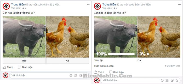 Hình ảnh sQElHNJ của Hướng dẫn đặt câu hỏi - tạo khảo sát trên trang cá nhân Facebook tại HieuMobile