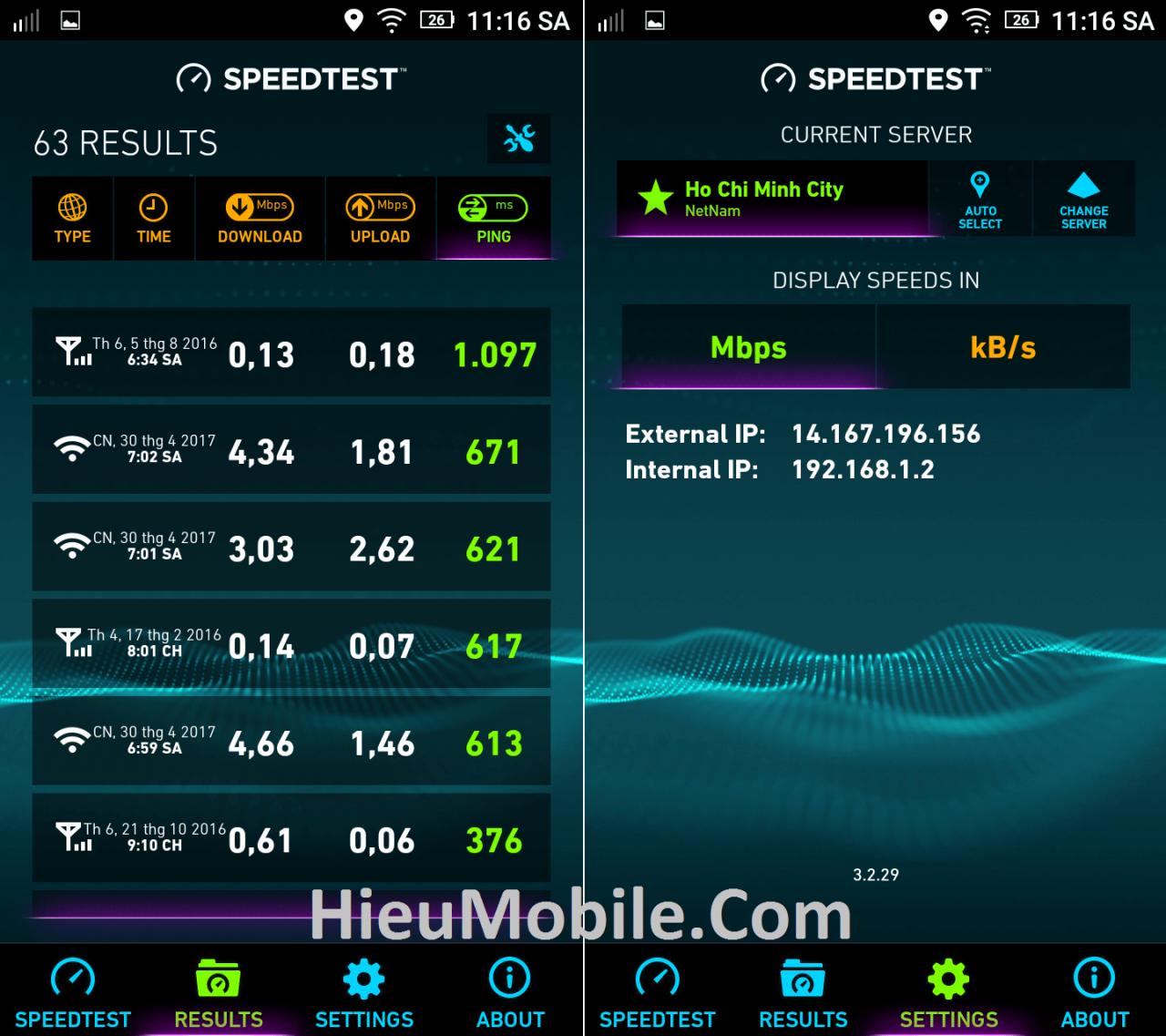 Hình ảnh sTn83fW của Tải SpeedTest - Ứng dụng kiểm tra tốc độ kết nối mạng tại HieuMobile
