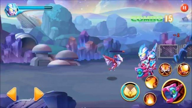 Hình ảnh sfuHbdR của Tải game Superhero Robot - Siêu nhân người máy tại HieuMobile