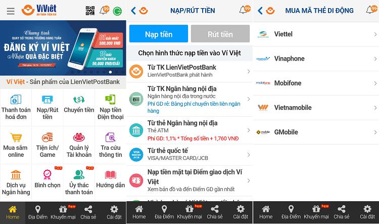 Hình ảnh srt8Bbd của Tải Ví Việt - Ứng dụng ví điện tử đa tiện ích bảo mật cao tại HieuMobile