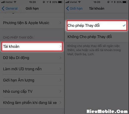 Hình ảnh tFc7Oh8 của Cách loại bỏ ẩn iCloud và thay đổi tài khoản dễ dàng cho iPhone tại HieuMobile