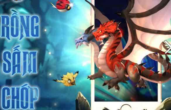 Rồng Sấm Chớp trong Bí Kíp Luyện Rồng 3D Mobile
