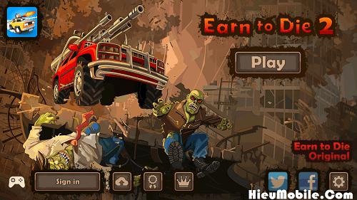 Hình ảnh tYp40H0 1 của Tải game Earn to Die Lite và 2 - Đua xe cán Zombie rất hay tại HieuMobile